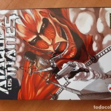 Cómics: Nº 1 ATAQUE A LOS TITANES - HAJIME ISAYAMA. Lote 205759578