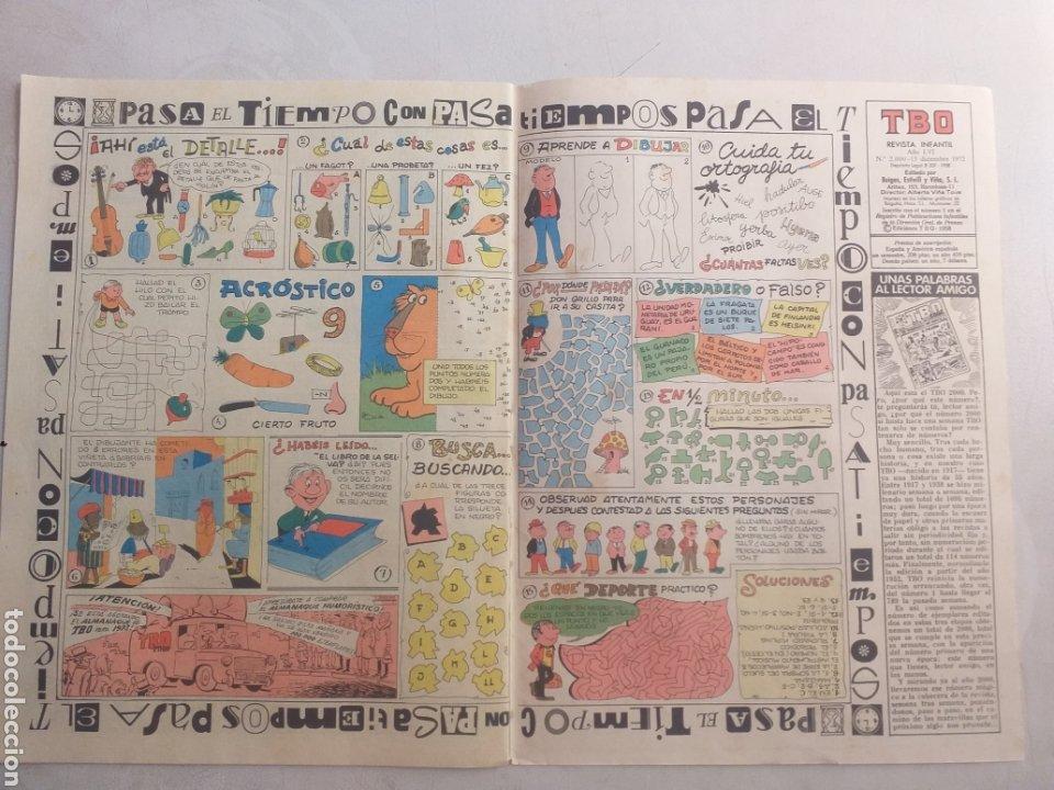 Cómics: T B O N° 2000 PATAS.8 REVISTA JUVENIL 2000 - Foto 5 - 206134915