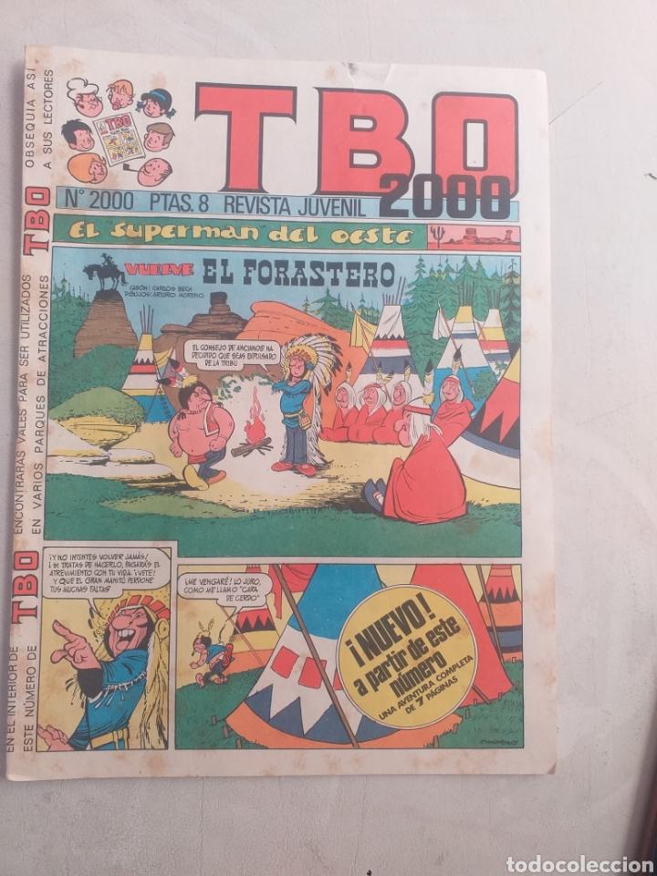 T B O N° 2000 PATAS.8 REVISTA JUVENIL 2000 (Tebeos y Comics - Norma - Comic Europeo)
