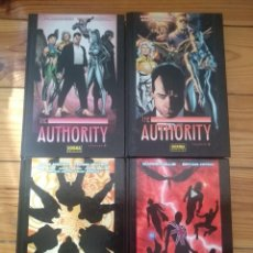 Cómics: THE AUTHORITY COMPLETA - TOMOS 1 2 3 Y 4 - D1. Lote 206314321
