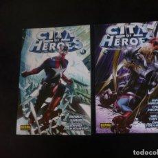 Cómics: CITY OF HEROES Nº 1 Y 2. Lote 206515431