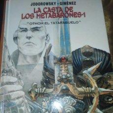 Cómics: ÚNICO LA CASTA DE LOS METABARONES 1 OTHON TATARABUELO DEDICADO FIRMADO DIBUJO EXCLUSIVO GIMÉNEZ 2003. Lote 206562871