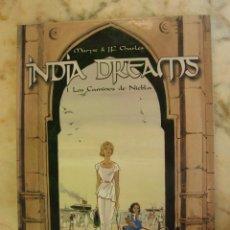 Cómics: COLECCIÓN COMPLETA DE 4 TOMOS INDIA DREAMS EDITORIAL NORMA NUMEROS 1 2 3 4. Lote 206950698