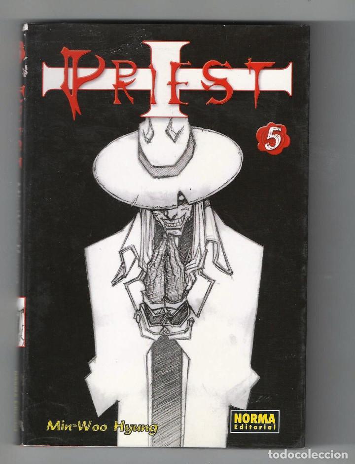 MIN-WOO HYUNG. PRIEST. TOMO 5 (Tebeos y Comics - Norma - Otros)