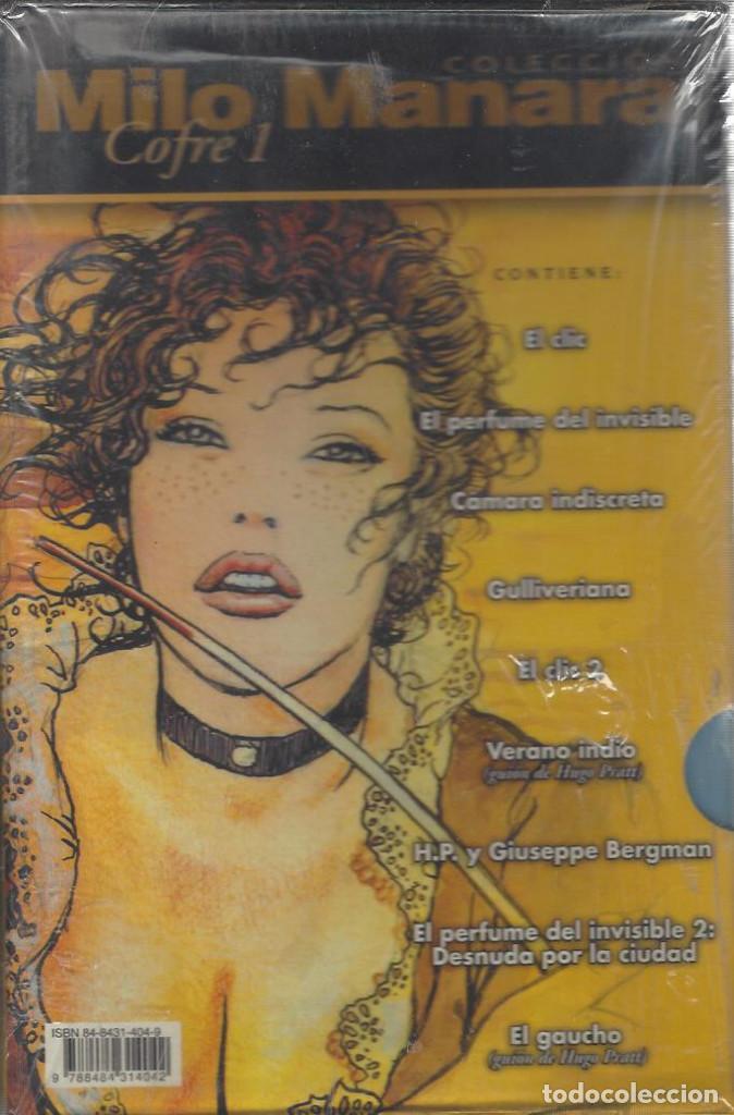 COLECCIÓN MILO MANARA - 2 COFRES - 34 NUMEROS - COMPLETA - A ESTRENAR !! (Tebeos y Comics - Norma - Comic Europeo)