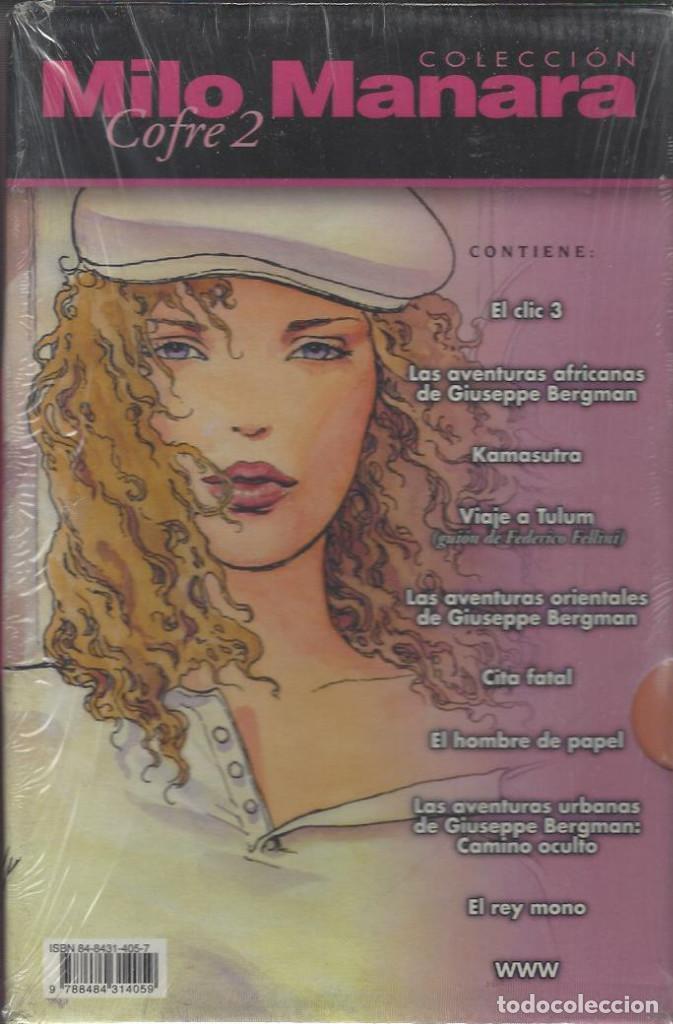 Cómics: COLECCIÓN MILO MANARA - 2 COFRES - 34 NUMEROS - COMPLETA - A ESTRENAR !! - Foto 2 - 234900220