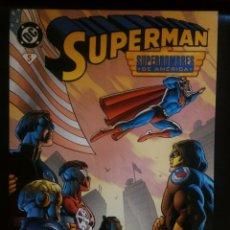 Cómics: SUPERMAN 5 SUPERHOMBRES DE AMÉRICA. Lote 207989057