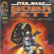 Fumetti: STAR WARS - BOBA FETT ENEMIGO DEL IMPERIO - 2 TOMOS - COMPLETA - A ESTRENAR !!!. Lote 208237965