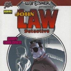 Cómics: WILL EISNER PRESENTA: JOHN LAW DETECTIVE. COLECCION COMIC NOIR 13. NORMA EDITORIAL. RUSTICA. 80 PAGS. Lote 208359962