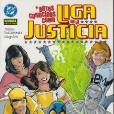 Cómics: JLA. ANTES CONOCIDOS COMO LA LIGA DE LA JUSTICA. NORMA RUSTICA.. Lote 208362550