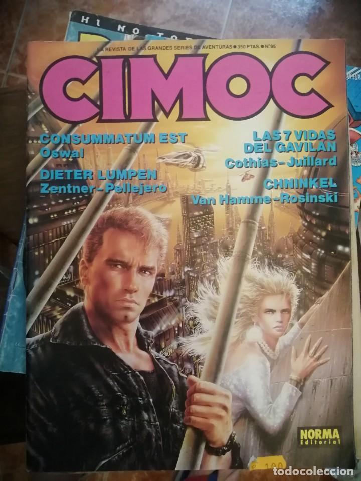 CIMOC Nº 95 CON LUIS ROYO-PELLEJERO-ROSINSKI (Tebeos y Comics - Norma - Cimoc)