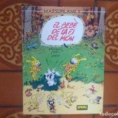 Cómics: EL BEBE DE LA FI DEL MON. MARSUPILAMI 2. NORMA. TAPA DURA.. Lote 208389807