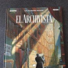Cómics: EL ARCHIVISTA - LAS CIUDADES OSCURAS - FORMATO 30,5 X 40 CM- 1ª EDICIÓN - NORMA - 1991 - ¡NUEVO!. Lote 208782231