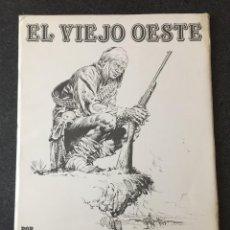 Cómics: PORTAFOLIO EL VIEJO OESTE - A. HERNÁNDEZ PALACIOS - 10 LÁMINAS - 1ª EDICIÓN - NORMA - 1985 - ¡NUEVO!. Lote 208783478