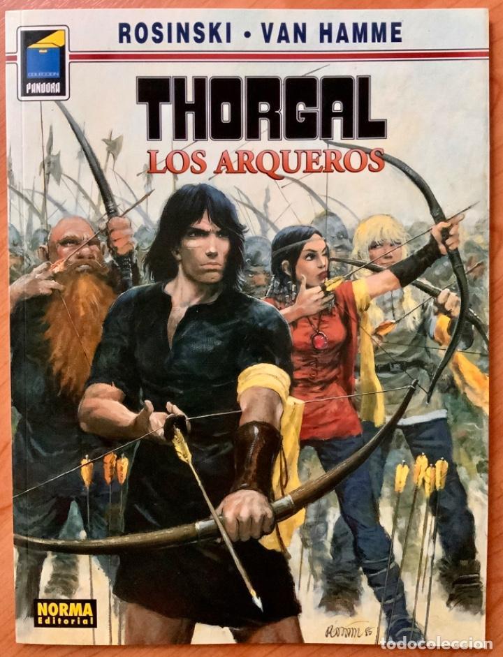 CÓMIC THORGAL LOS ARQUEROS NORMA EDITORIAL SEGUNDA EDICIÓN AÑO 2000 (Tebeos y Comics - Norma - Comic Europeo)