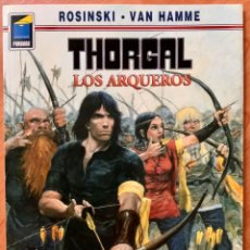 Cómics: CÓMIC THORGAL LOS ARQUEROS NORMA EDITORIAL SEGUNDA EDICIÓN AÑO 2000. Lote 208974647