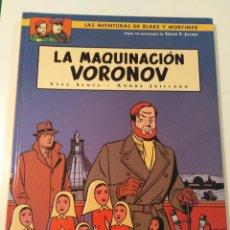 Cómics: LA MAQUINACIÓN VORONOV. NORMA EDITORIAL. Lote 208784991