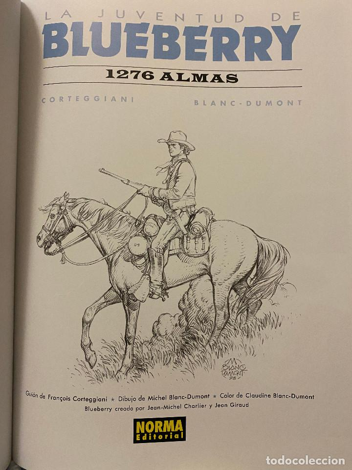 Cómics: Blueberry 51: 1276 almas, 2010, Norma, primera edición, impecable - Foto 2 - 209064025