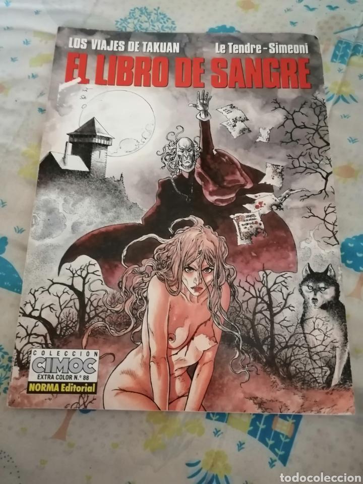 EL LIBRO DE SANGRE. AÑO 1992 (Tebeos y Comics - Norma - Cimoc)