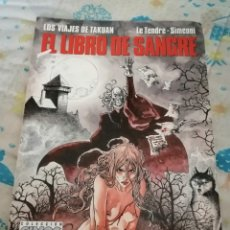 Cómics: EL LIBRO DE SANGRE. AÑO 1992. Lote 209356558