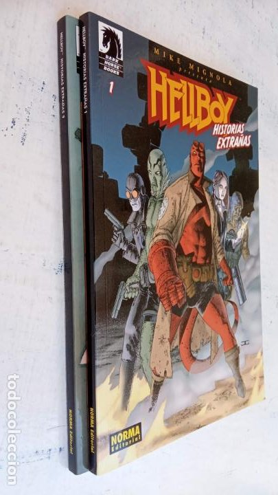 Cómics: HELLBOY Nº 1 Y 2 HISTORIAS EXTRAÑAS - NORMA EDITORIAL, NUEVOS - Foto 2 - 209618425