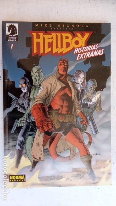 Cómics: HELLBOY Nº 1 Y 2 HISTORIAS EXTRAÑAS - NORMA EDITORIAL, NUEVOS - Foto 4 - 209618425