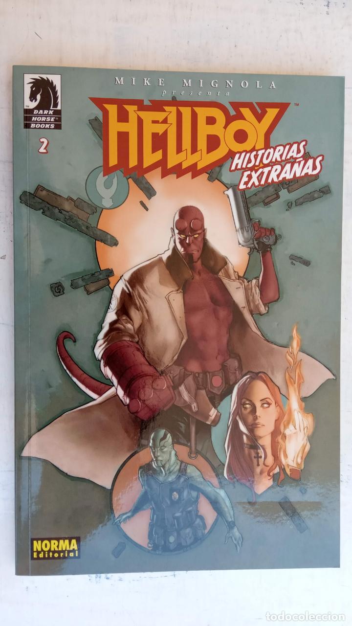 Cómics: HELLBOY Nº 1 Y 2 HISTORIAS EXTRAÑAS - NORMA EDITORIAL, NUEVOS - Foto 5 - 209618425