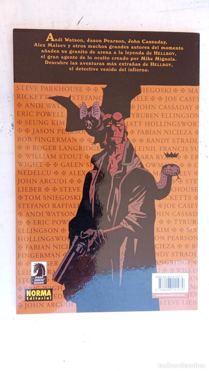Cómics: HELLBOY Nº 1 Y 2 HISTORIAS EXTRAÑAS - NORMA EDITORIAL, NUEVOS - Foto 6 - 209618425