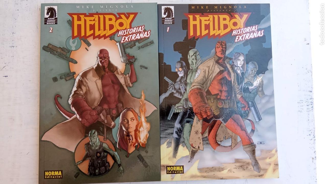 HELLBOY Nº 1 Y 2 HISTORIAS EXTRAÑAS - NORMA EDITORIAL, NUEVOS (Tebeos y Comics - Norma - Otros)