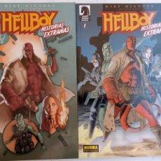 Cómics: HELLBOY Nº 1 Y 2 HISTORIAS EXTRAÑAS - NORMA EDITORIAL, NUEVOS. Lote 209618425