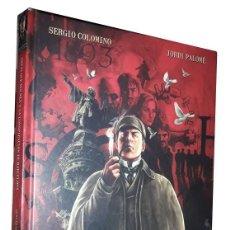 Cómics: COMIC SHERLOCK HOLMES Y LA CONSPIRACION DE BARCELONA (NORMA 2012) ***PERFECTO***. Lote 209839015