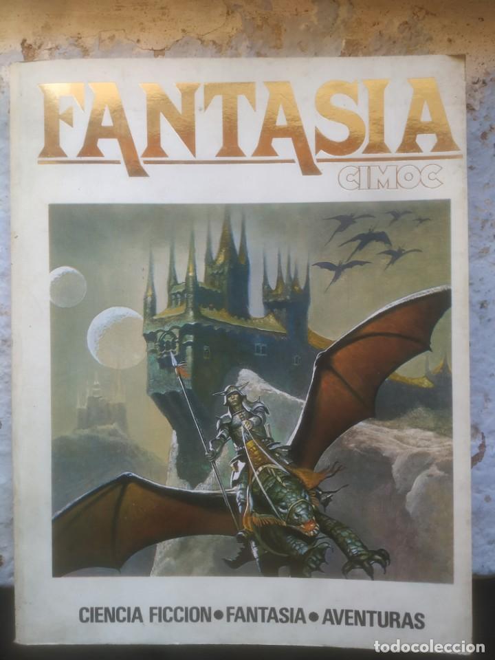 FANTASIA CIMOC Nº 1 NORMA EDITORIAL 1981 (Tebeos y Comics - Norma - Cimoc)