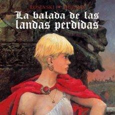 Cómics: BALADA DE LAS LANDAS PERDIDAS,LA VOL.INTEGRAL. Lote 210055711