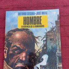Cómics: HOMBRE-LA HERENCIA DE LA HUMANIDAD-ANTONIO SEGURA-JOSE ORTIZORTIZ-COLECCION B N NORMA EDITORIAL N°4. Lote 210064515