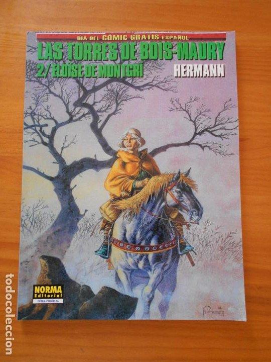 LAS TORRES DE BOIS-MAURY Nº 2 - ELOUSE DE MONTGRI - HERMANN - EXTRA COLOR Nº 86 - NORMA (B1) (Tebeos y Comics - Norma - Cimoc)