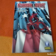 Cómics: NUMBER OF THE BEAST ( SCOTT BEATTY SPROUSE ) ¡MUY BUEN ESTADO! NORMA WILDSTORM. Lote 210173575