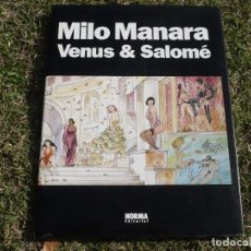 Comics : VENUS & SALOMÉ. MILO MANARA. NORMA EDITORIAL, 2004.. Lote 210300142