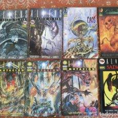 Cómics: 8 COMICS ALIENS,NORMA,SALVACION,MUTACION,CAOS,RESURECCION,NEWT.VER DETALLES. Lote 210398305
