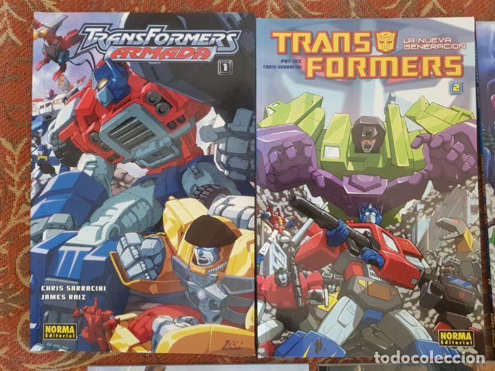 Cómics: 7 tomos transformers nueva generacion,el comic oficial norma.muy buen estado.ver detalles - Foto 2 - 210401992