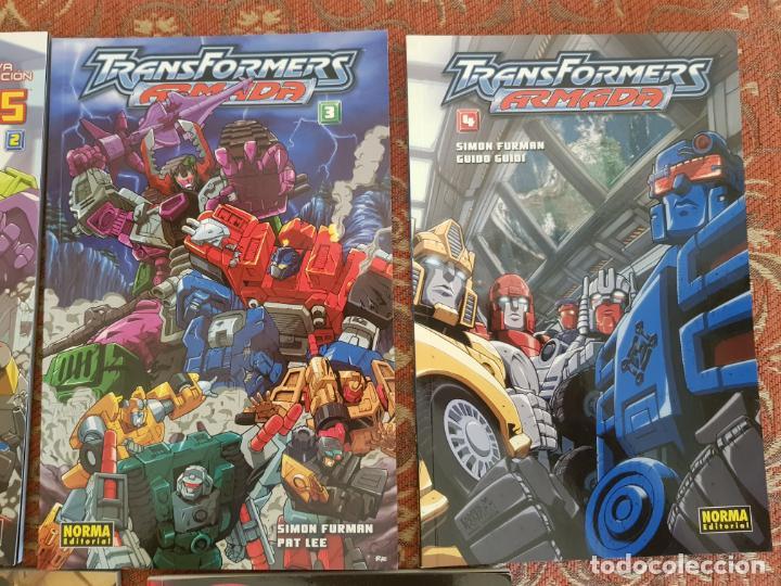 Cómics: 7 tomos transformers nueva generacion,el comic oficial norma.muy buen estado.ver detalles - Foto 3 - 210401992