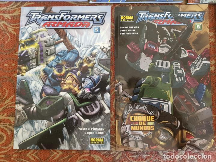 Cómics: 7 tomos transformers nueva generacion,el comic oficial norma.muy buen estado.ver detalles - Foto 4 - 210401992