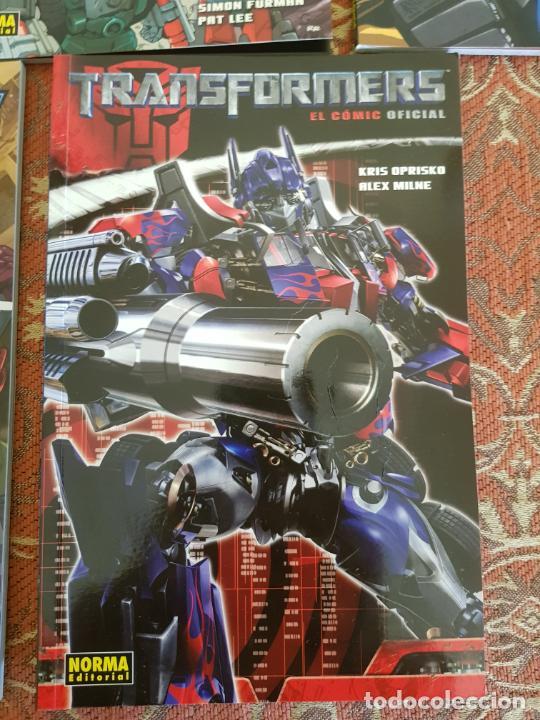 Cómics: 7 tomos transformers nueva generacion,el comic oficial norma.muy buen estado.ver detalles - Foto 5 - 210401992