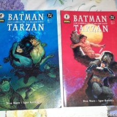Cómics: BATMAN TARZÁN COMPLETA 2 TOMOS. Lote 210486542
