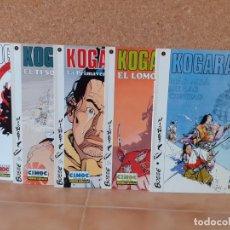 Cómics: 5 TOMOS KOGARATSU, COMPLETA - BOSSE / MICHETZ - NORMA EDITORIAL. Lote 210573443