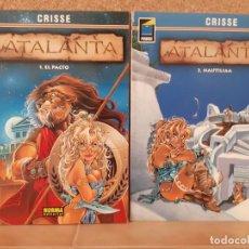 Cómics: 2 TOMOS ATALANTA ( 1 - 2 ) - CRISSE - NORMA EDITORIAL. Lote 210575440