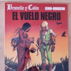 Cómics: EL VUELO NEGRO - GENIN / BOURGEON - NORMA EDITORIAL -. Lote 210578536