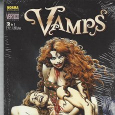 Cómics: VAMPS - NORMA - 2 TOMOS - COMPLETA - PERFECTO ESTADO !!. Lote 210635481