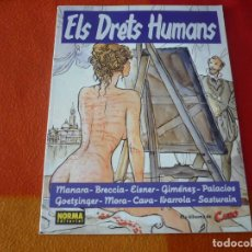 Cómics: ELS DRETS HUMANS ( MANARA BRECCIA EISNER) ¡BUEN ESTADO! EN CATALAN NORMA CAIRO. Lote 210639891