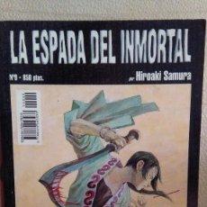 Cómics: LA ESPADA INMORTAL 9. Lote 210646345