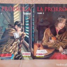 Cómics: LA PRÓRROGA, 2 TOMOS COMPLETA - GIBRAT - NORMA EDITORIAL. Lote 210653595